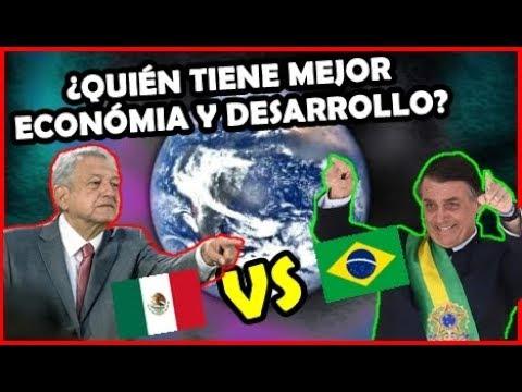 BRASIL 🇧🇷 Vs. MÉXICO 🇲🇽 Poder Económico Y Desarrollo Humano ¿Quién Gana? | Peruvian Life