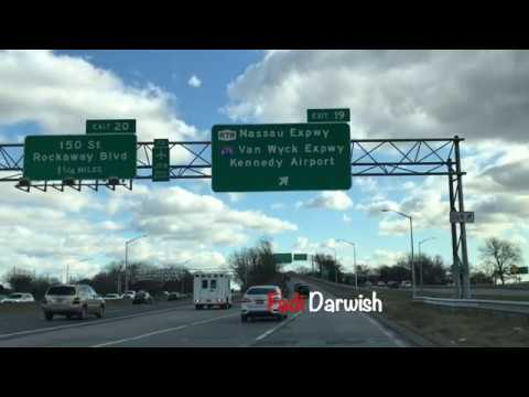 Driving From Brooklyn To John F Kennedy International Airport, Queens New York