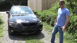 My BMW 328i now has a charcoal filter delete a new air filter VMR v...