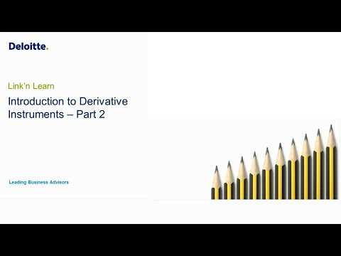 Link'n Learn - Derivative Financial Instruments  - Valuing Complex Instruments