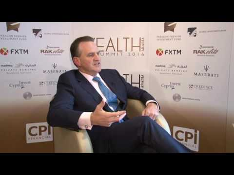 Paul Gyra, COO, Head of Wealth Management, Global Investment Bank at the WEALTH Arabia Summit 2016