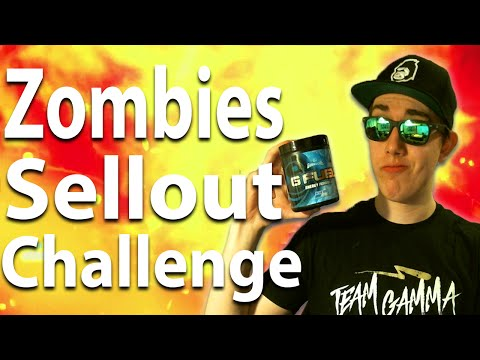 Black Ops 3 Zombies: SELLOUT CHALLENGE w/ Emma - Powered By