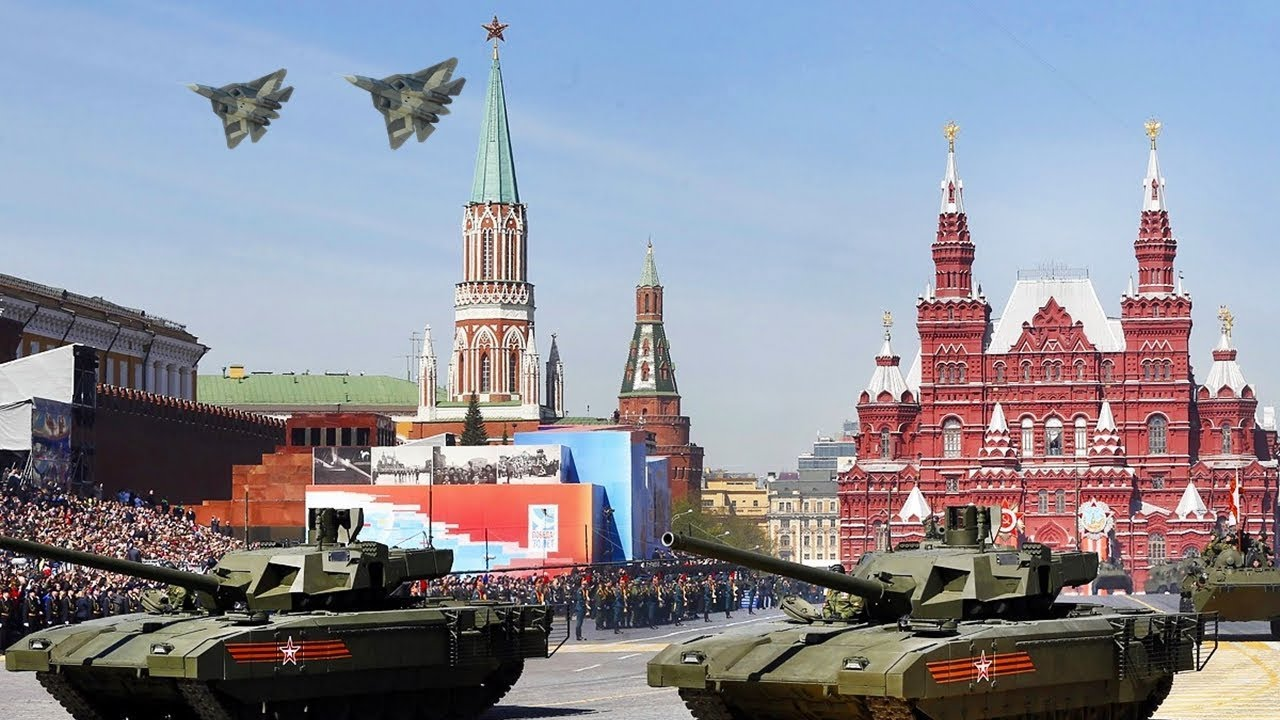 Image result for russia victory day parade 2018