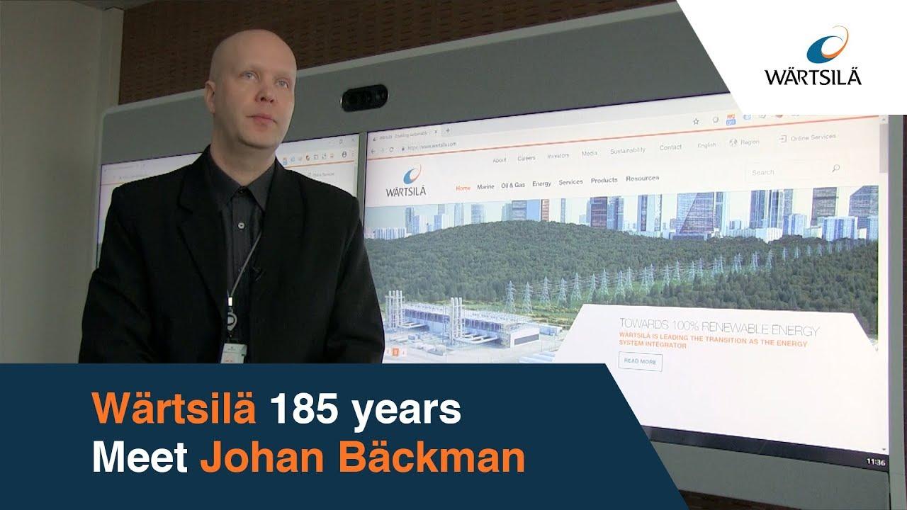 Johan Bäckman – The Website Guru | Wärtsilä 185x
