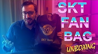 SKT Fan Bag Unboxing with Travis at Worlds 2017