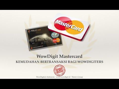 Cash Withdrawal WowDigit Mastercard - Mr. Yani - Palembang