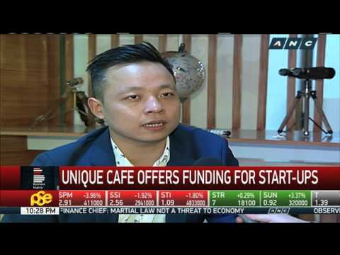 Unique cafe offers funding for start-ups