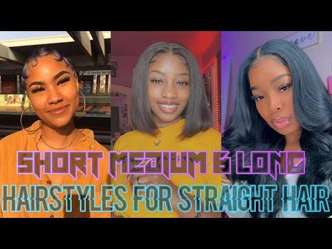 🦋✨cute-hairstyles-for-straight-hair✨🦋[short,medium-&-long-styles-for-straight-hair-compilation-2020