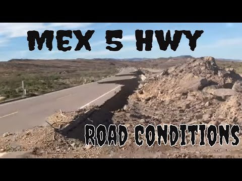 Mex 5 Hwy : Drive From San Felipe To Bahia De Los Angeles, Baja Mexico
