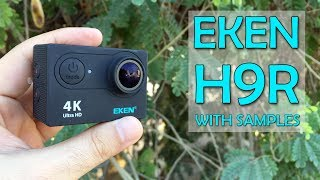 Is this really Go Pro on a Budget? EKEN H9R Action camera with real footage.