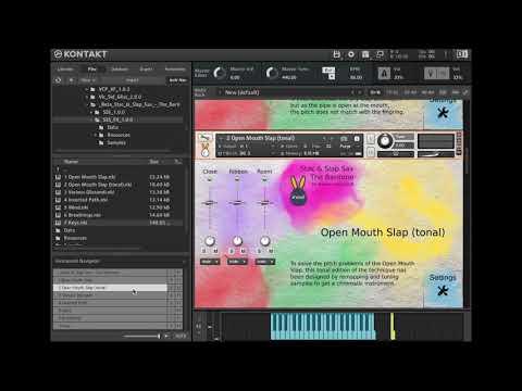 inouï samples - Stac & Slap Sax - The Baritone - Présentation