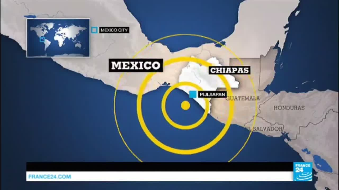 At least 5 dead after magnitude 7.4 earthquake rocks southern Mexico
