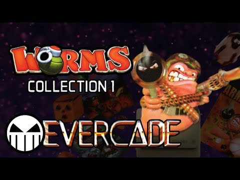 Worms Collection 1 - All Games on the Evercade |