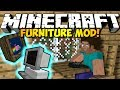 Minecraft Furniture Mod COUCHES, TVs, COMPUTERS MORE HD