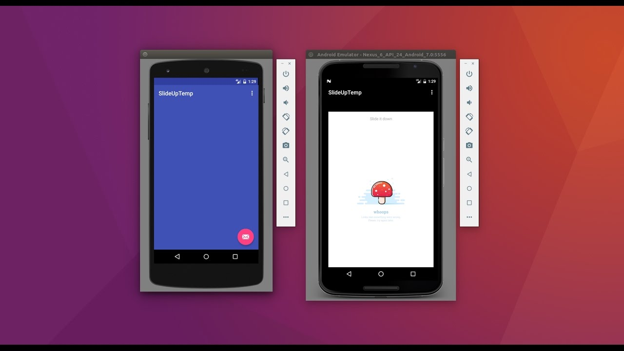 SlideUp-Android library — Fandroid info