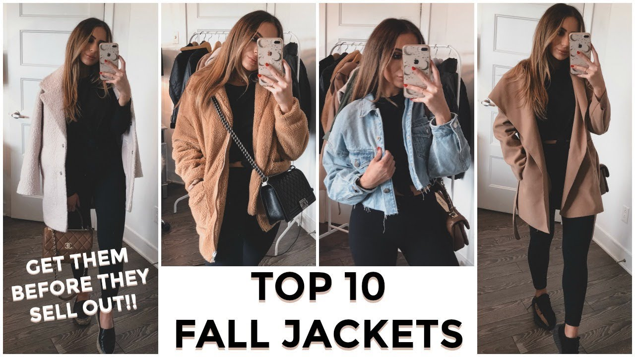 [VIDEO] - TOP 10 JACKETS FOR FALL - ALL AFFORDABLE & SHORT GIRL FRIENDLY 2