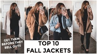 TOP 10 JACKETS FOR FALL - ALL AFFORDABLE & SHORT GIRL FRIENDLY