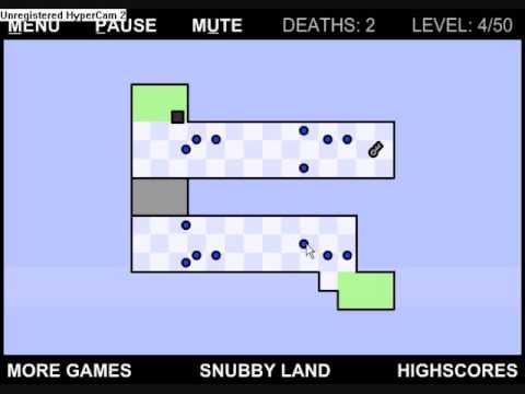 Worlds hardest game 2 level 8