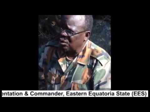 Maj Gen  Martin Terensio Kenyi Speaking Directly to the Madi People