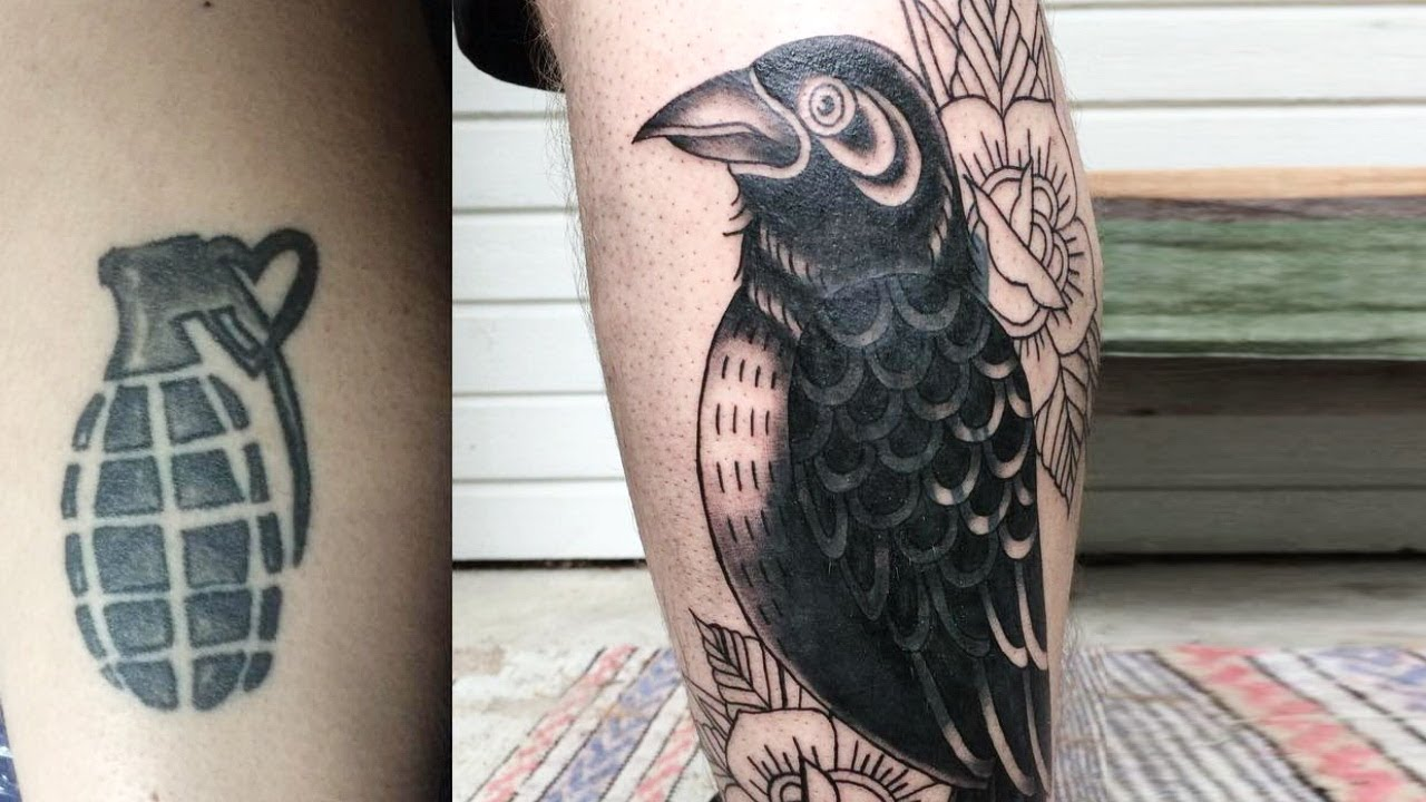 30 Brilliant Tattoo Cover Up Ideas To Give Your Tattoo A Second Chance Youtube