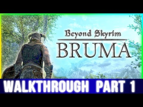 Beyond Skyrim: Bruma Walkthrough Part 1 - (Waiting for The Elder Scrolls 6)