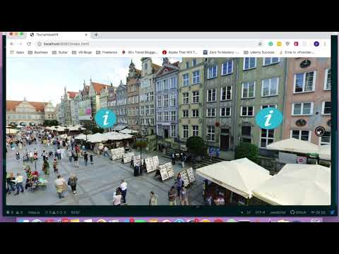 Create a VR tourism app with React 360 thumbnail