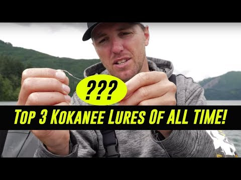 TOP 3 Kokanee Lures Of ALL TIME! - Kokanee Fishing Tips & Tricks