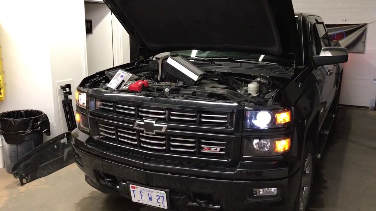 Lumens Ub Series Led Headlight Conversion For 2017 Chevy Silverado Z71