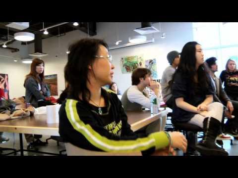 4 minutes in RISD's freshman studios