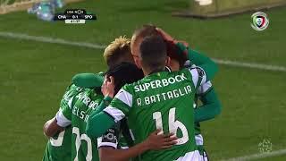 Chaves (1)-2 Sporting (Liga 26ªJ): Resumo