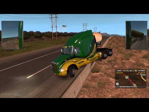 Truck Simulator Sunday Had to be the worst drive ever
