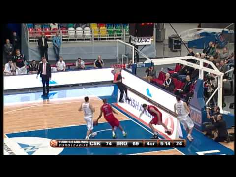 Dunk of the Night: Viktor Khryapa, CSKA Moscow