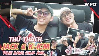 Jack & KICM thử thách pose dáng chụp ảnh cùng Saostar Quá Giang