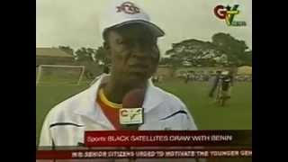 Black Satelites Draw with Benin