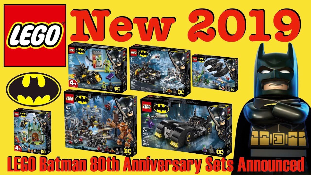 Lego Halloween Sets 2019.Lego 2019 Batman 80th Anniversary Sets Announced