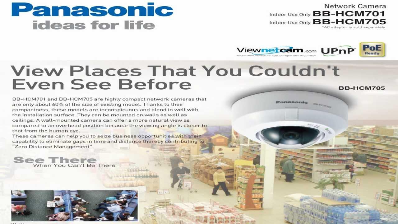 Panasonic BB-HCM701A Network Camera Windows 8 X64 Driver Download