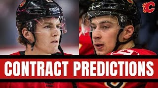 Predicting the Contracts of Matthew Tkachuk and Andrew Mangiapane | Calgary Flames 2019-2020