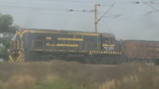 Skipping Adityapur, crossing Kharkai river, and spotting TATA STEEL alco: WAP-4 Duronto on-board