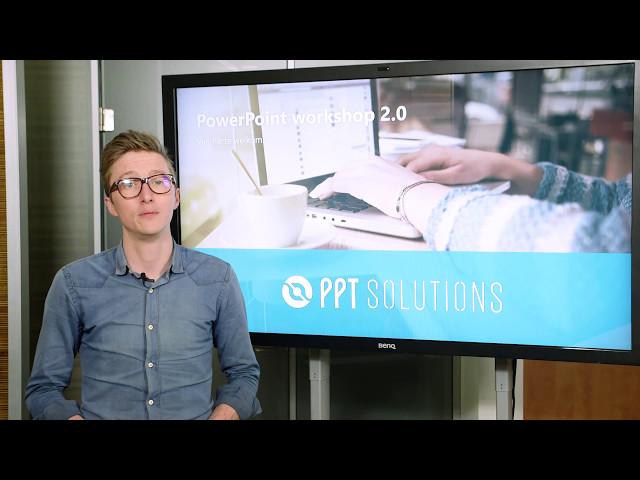 Word een expert met deze PowerPoint training! | PowerPoint Workshop 2.0 | PPT Solutions