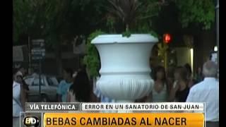 Bebes cambiadas al nacer - Telefe Noticias