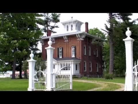 Abram C. Fisk House in Coldwater, Michigan