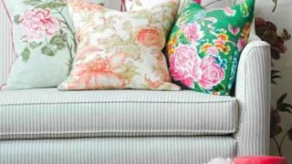 видео Модные шторы в цветочек в стиле кантри для кухни и спальни