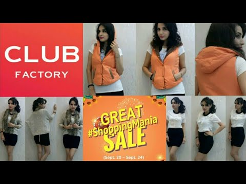 CLUB FACTORY Haul | Affordable Online Fashion | Discount Code | Sale + Free Gifts | Giveaway Open