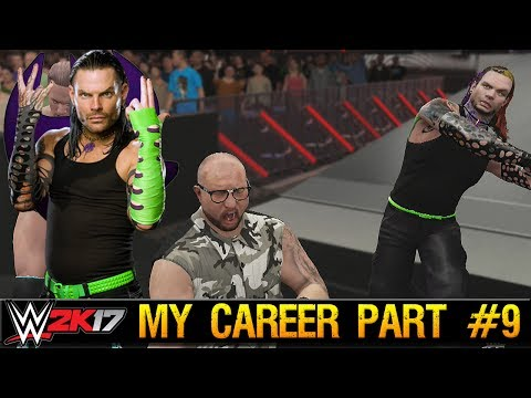 "WWE 2K17 My Career Part #9 ""Team 3D Down"" - Return of Jeff Hardy (PS4 Pro Gameplay)"