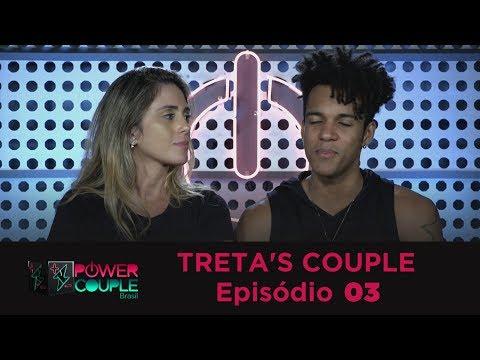 TRETA`S COUPLE - EPISÓDIO 3 | HERMES E RENATO NO POWER COUPLE BRASIL