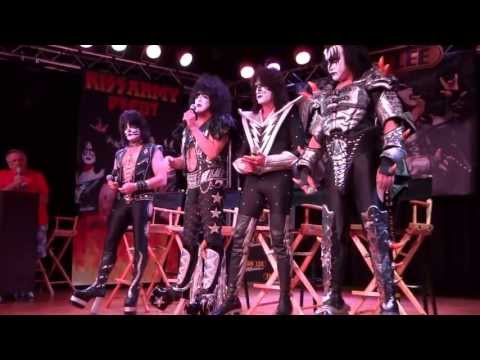 KISS - Press conference, Vancouver, Jul 4th, 2013