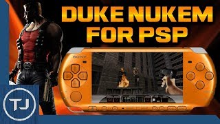 How To Install Duke Nukem 3D On PSP! (Homebrew Game)