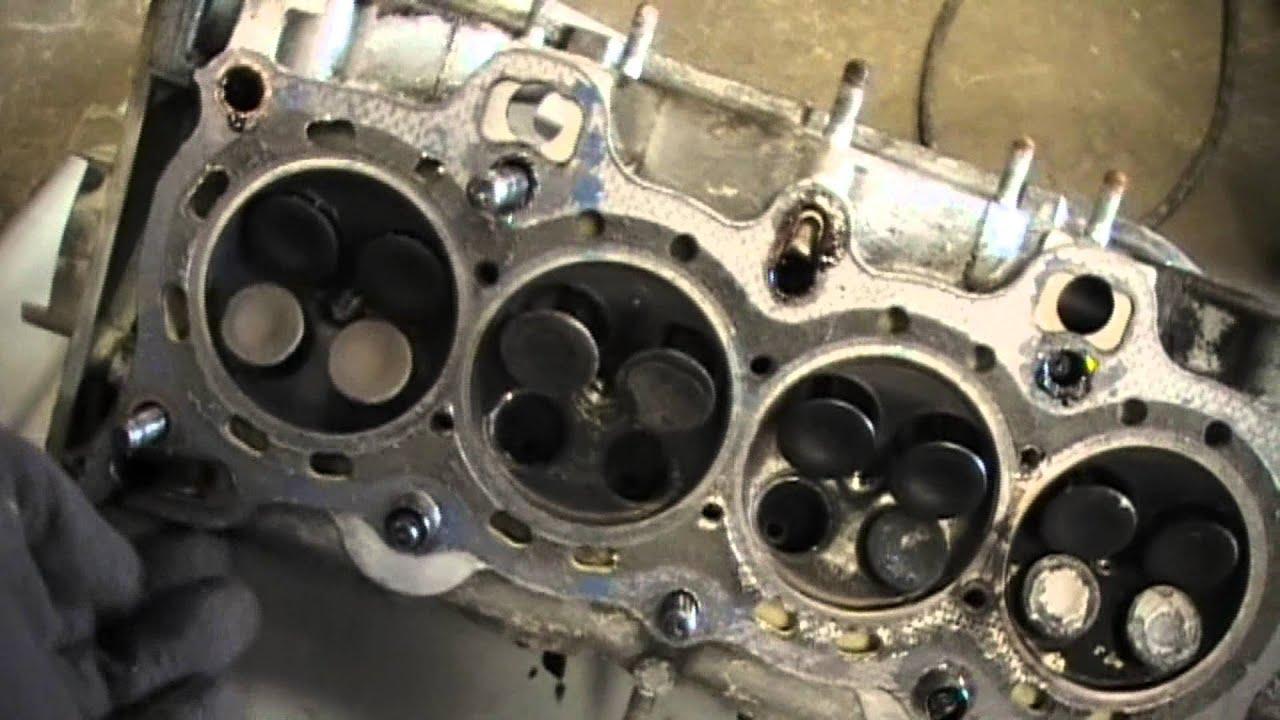 disassemble honda civic d15b1 1988 1991 motor 1 3 youtube rh youtube com 1991 Honda CRX 1989 Honda CRX