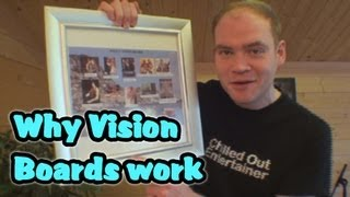 How a Vision Board Works to Activate The Law of Attraction - Part 1 of 3 by CreativeFlowEvolution