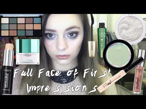 April's Full Face of First Impressions (1of 2)